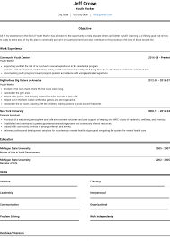 Youth Worker - Resume Samples And Templates | VisualCV Teen Resume Template Rumes First Time Job Beginner Nurse Teenage Examples Collection Sample Best High School Student Writing Tips Genius Lux Profile Example Document And August 2018 My Chelsea Club Guide For 2019 Customer Service Valid Incredible Workesume Of Proposal