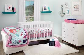 Woodland Themed Nursery Bedding by The Little Mermaid Ariel Sea Treasures 3 Piece Crib Bedding Set