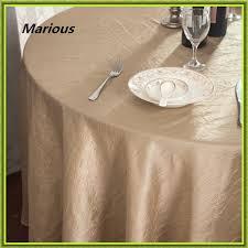 10 pcs marious ronde pintuck table de taffetas chiffon de