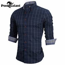 online get cheap mens blue striped dress shirt aliexpress com