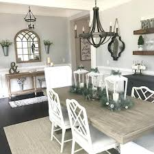 Farmhouse Dining Room Wall Decor Best Images On Living Home Ideas And Blue China