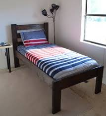 twin size u0027floating u0027 platform bed plan twin platform bed