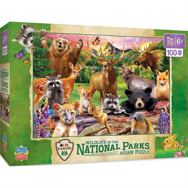 National Parks Kids Puzzle