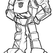 Pin Drawn Bumblebee Autobot 15