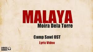Moira Dela Torre Malaya Camp Sawi OST LYRICS