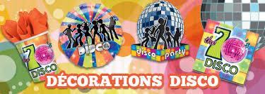 décoration thème disco déguisement magic