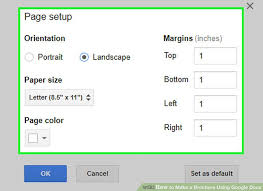 Image Titled Make A Brochure Using Google Docs Step 7