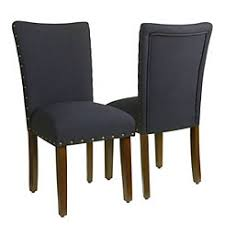 Dining Room Chairs Kirklands Navy Blue Parsons
