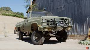 1986 Chevy Army Truck With A Big-block V8 - Engineswapdepot.com