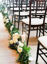 Gorgeous Winter Wedding Aisle Decor Ideas