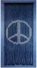 Doorway Beaded Curtains Wood by Peace Sign Black Wooden Door Beads Bohemian Decor