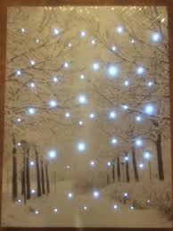 wall designs light up wall canvas paintings with led