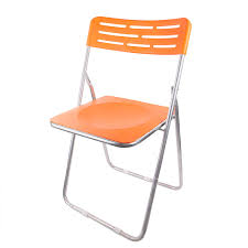 SPIRITED Heavy Multipurpose Folding Plastic Chair (Orange ... Charles Bentley Folding Fsc Eucalyptus Wooden Deck Chair Orange Portal Eddy Camping Chair Slounger With Head Cushion Adjustable Backrest Max 100kg Outdoor Fniture Chairs Chairs 2 Metal Folding Garden In Orange Studio Bistro Lifetime Spandex Covers Stretch Lycra Folding Chair Bright Orange Minimal Collection 001363 Ikea Nisse Kijaro Victoria Desert Dual Lock Superlight Breathable Backrest Portable 1960s Retro Peter Max Style Flower Power Vinyl Set Of Flash Fniture Ty1262orgg Details About Balcony Patio Garden Table