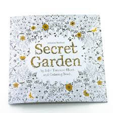 4 Design Secret Garden An Inky Treasure Hunt And Coloring Book Children Adult Relieve Stress Kill Time Graffiti Painting Drawing