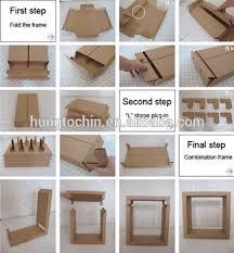 China Supplier Cool Design Brown Strong Cardboard Paper Showroom Display Racks