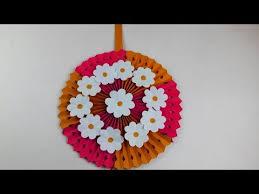 Origami VideoTutorials DIY Wall Hanging