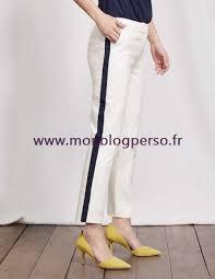 au bureau 8 14ynbfoiddowolc4 ivoire à bord bleu marine pantalon richmond 7 8