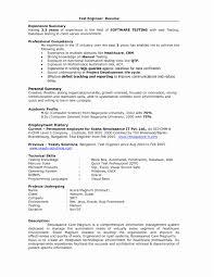 Resume Headline For Software Testing Freshers Fresher Reference Sample
