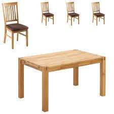 essgruppe royal oak royal oak hage 140x90 4 stühle braun