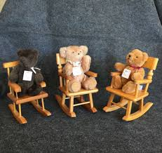 9-7: 3 Miniature Teddy Bears + 3 Wood Rocking Chairs Strombecker ... Kinbor Baby Kids Toy Plush Wooden Rocking Horse Elephant Theme Style Amazoncom Ride On Stuffed Animal Rocker Animals Cars W Seats Belts Sounds Childs Chair Makeover Farmhouse Prodigal Pieces 97 3 Miniature Teddy Bears Wood Rocking Chairs Strombecker Buy Animated Reindeer Sing Grandma Got Run Giraffe Chairs Cuddly Toys Child For Custom Gift Personalised Girls Gifts 1991 Gemmy Musical Santa Claus Christmas Decoration Shop Horsestyle Dinosaur Vintage155 Tall Spindled Doll Chair Etsy