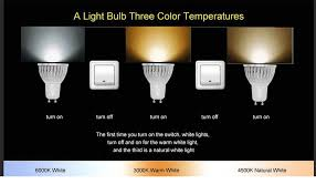 gu10 led bulb beilai 1 bulb 3 color temperature 3w cob