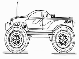 100 Monster Truck Drawing Grave Digger Colors Lovely Grave Digger At