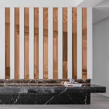 acryl spiegel oberfläche wand aufkleber gestreiften design wand aufkleber wohnzimmer moderne dekoration