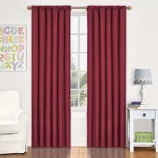 Eclipse Room Darkening Curtain Rod by Amazon Com Eclipse 10707042x063chl Kendall 42 Inch By 63 Inch