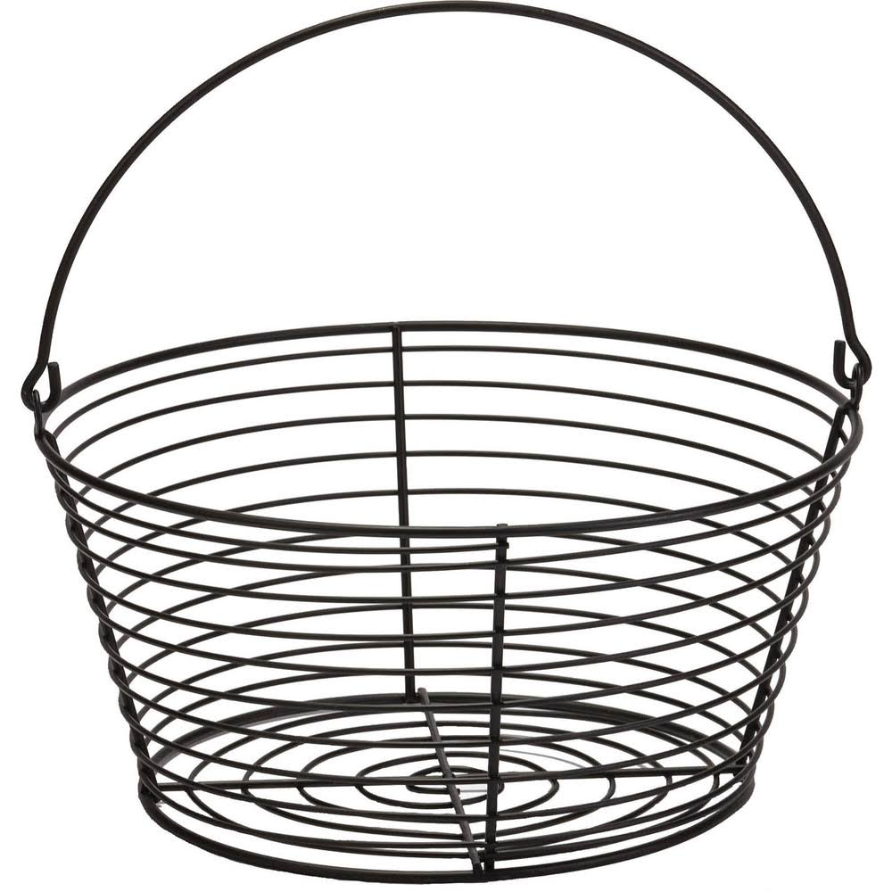 Miller Little Giant Egg Basket - Black, Large