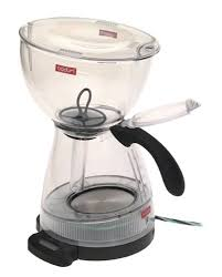 Bodum 3000 10USAA Electric Santos 12 Cup Coffeemaker With Timer Clear