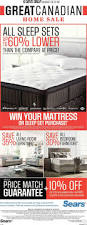 Sears Adjustable Beds by Sears Mattress Sale Flyer Mattress