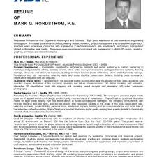 Resume Samples For Experienced Mechanical Engineers Pdf Inspirationa Sample Engineer Fresher