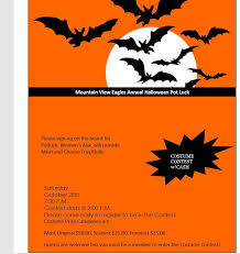 Halloween Potluck Sign In Sheet by Fraternal Order Of Eagles 2356 Mountain View Ca Posts Facebook