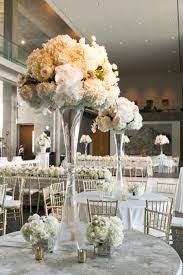 Translucent Vases All White Blooms