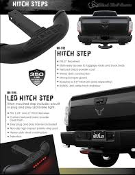 Truck Hitch Step Elegant Hitch Stair With 2 Steps For 2