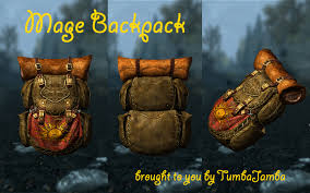 Mage Backpack by Tumbajamba at Skyrim Nexus mods and munity