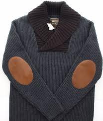 coach 83149 men u0027s shawl collar wool cashmere elbow patch sweater