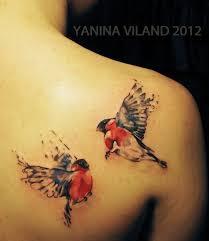 Other Photos To Love Bird Tattoo