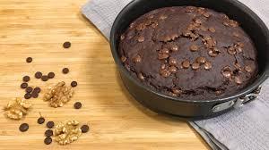 gesunder schokoladen kuchen