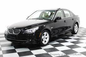 2008 Used BMW 5 Series CERTIFIED 528i PREMIUM PACKAGE SEDAN at