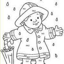 CHARACTERS Color By Number Coloring Pages