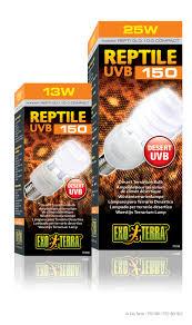 Uv B Lamp For Vitamin D Uk by Exo Terra Reptile Uvb150 Desert Terrarium Bulb