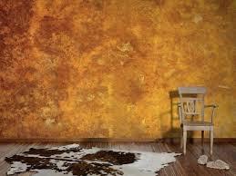 erstellen rostoptik an wänden im cortenstahl look