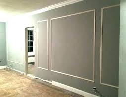 Wall Frame Molding Ideas Living Room Interior Decorating