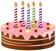 Birthday cake clip art border free stock photo public domain
