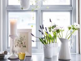 just pretty from ikea küchenfenster dekoration