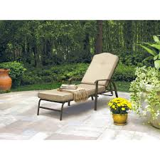 Stack Sling Patio Lounge Chair Tan by Mainstays Square Tile Sling Chaise Lounge Walmart Com