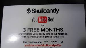 Free YouTube Red Code 35 Off Skullcandy New Zealand Coupons Promo Discount Skull Candy Coupon Code Homewood Suites Special Ebay Coupons And Promo Codes For Skullcandy Hesh Headphones Luxury Hotel Breaks Snapdeal Halo Heaven 2018 Meijer Double Policy Michigan Pens Com Southwest Airlines Headphones Earbuds Speakers More Bdanas Specials Codes Drug Mart Direct Putt Putt High Point Les Schwab Tires Jitterbug