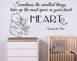 Winnie The Pooh Nursery Themes by Winnie The Pooh Wall Decal Etsy
