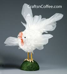 Recycled Fair Trade Plastic Bag Chicken FigurineCollectible Snake Figurine